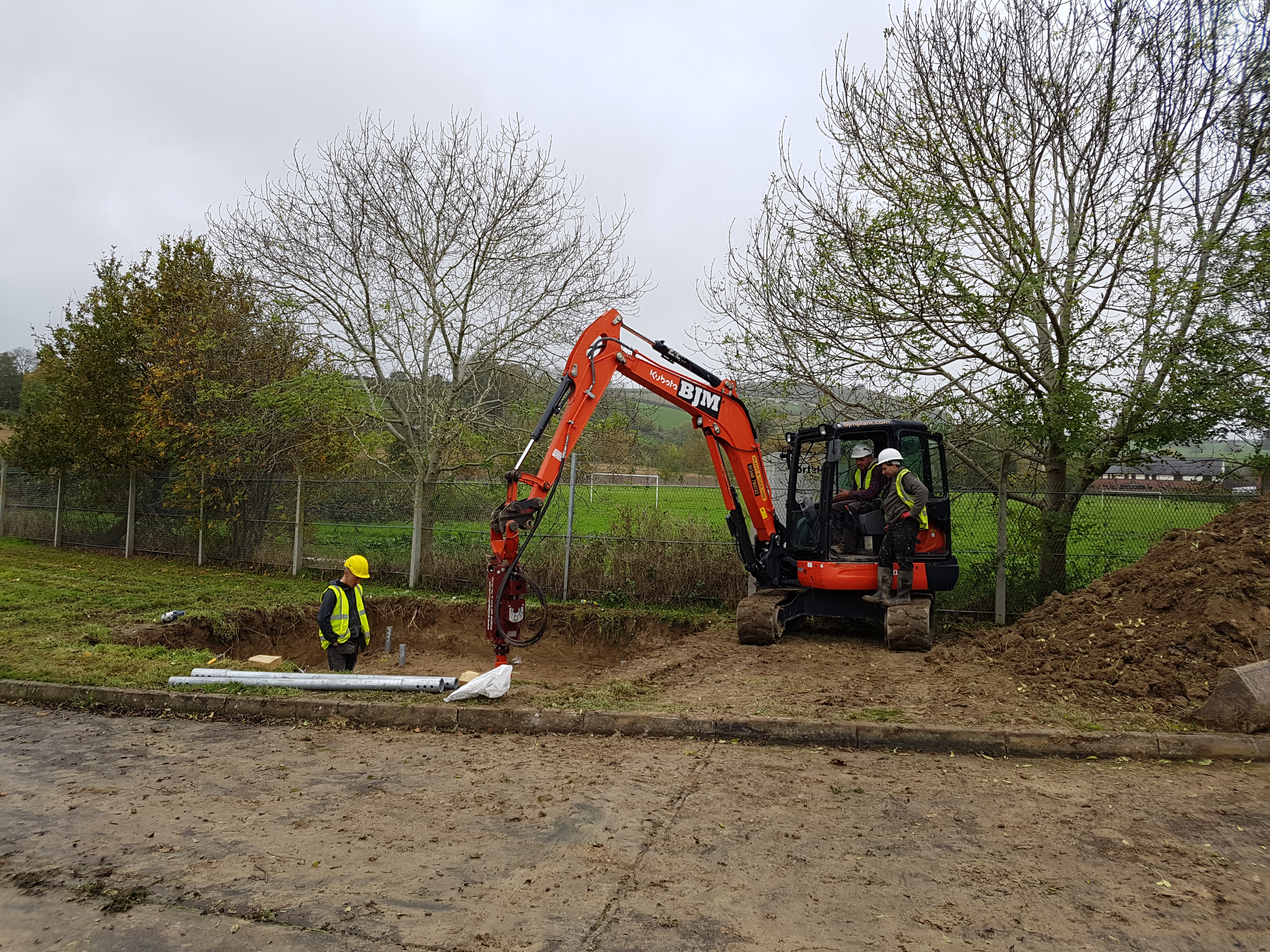 Abc anchors screw piles and installation archives thorteck for Cost of pilings for foundations